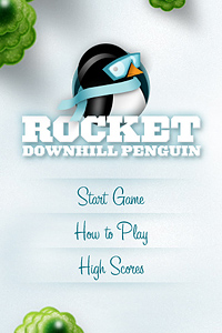 Rocket Downhill Penguin